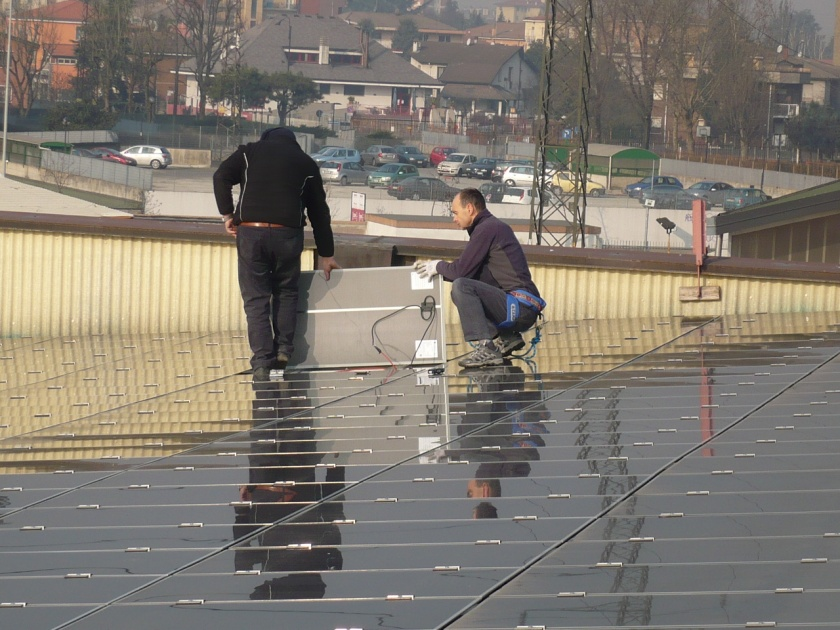 Walking on eggs, delicate solar modules maintenance