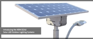 off-grid LED lighting system from Carmanah