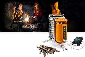 BioLite camp stove with power generator