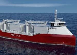 The shipping company Nor Lines will take the lead on the cargoferry project.